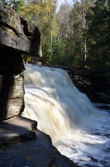 Canyon Falls - Things to do in the U.P.
