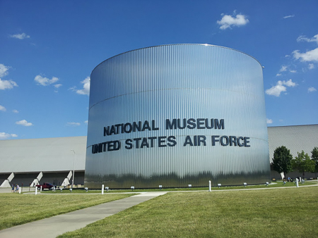 USAF Museum entrance